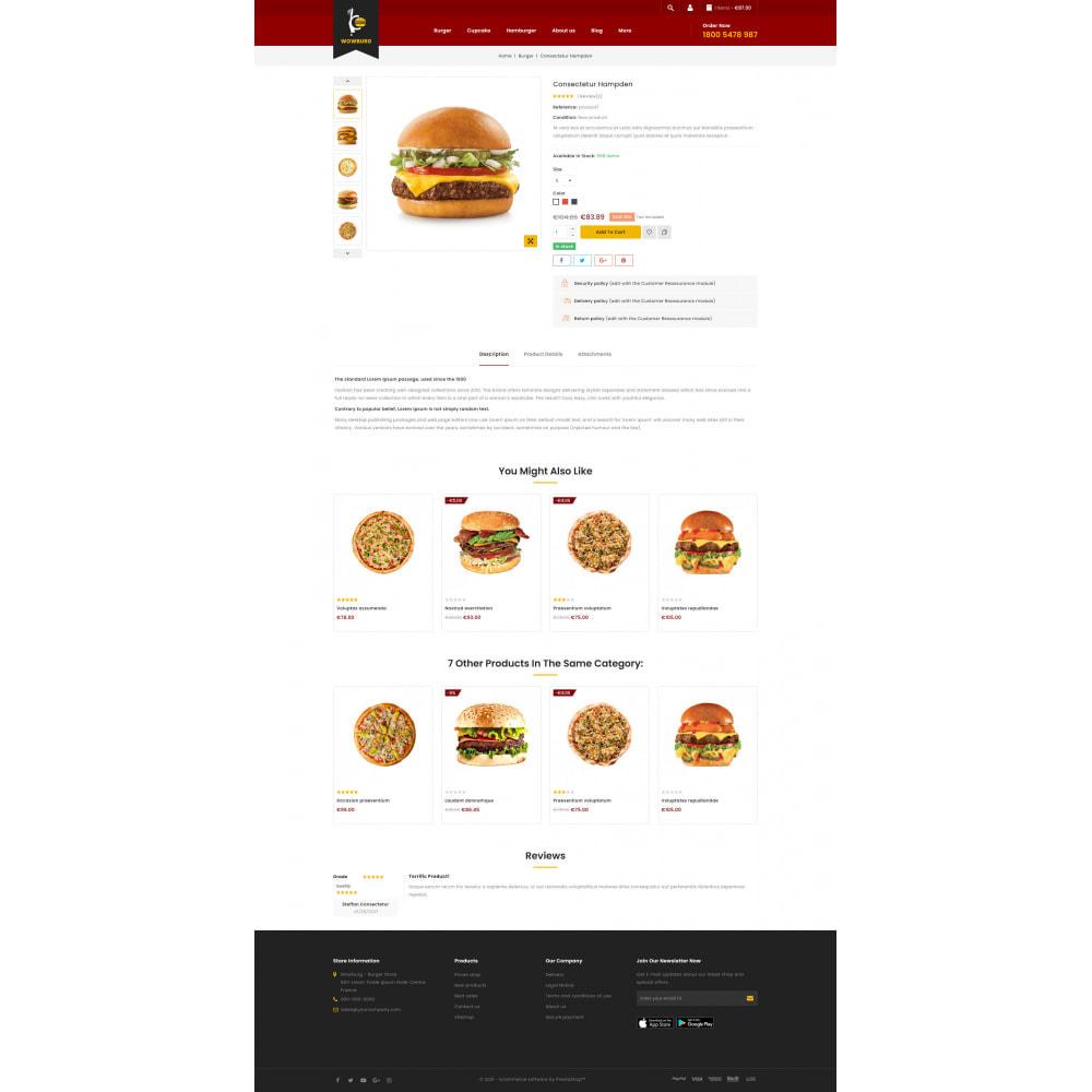 theme - Food & Restaurant - Wowburg - Burger Store - 5