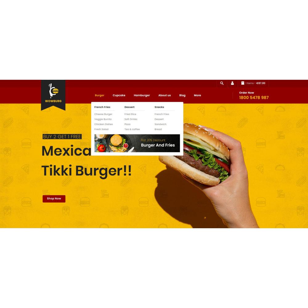 theme - Food & Restaurant - Wowburg - Burger Store - 6