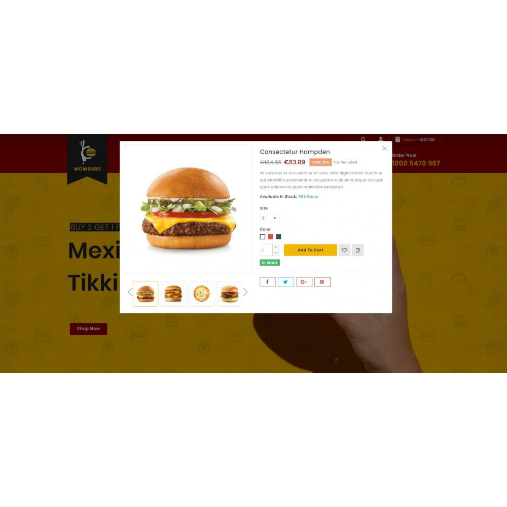 theme - Food & Restaurant - Wowburg - Burger Store - 8