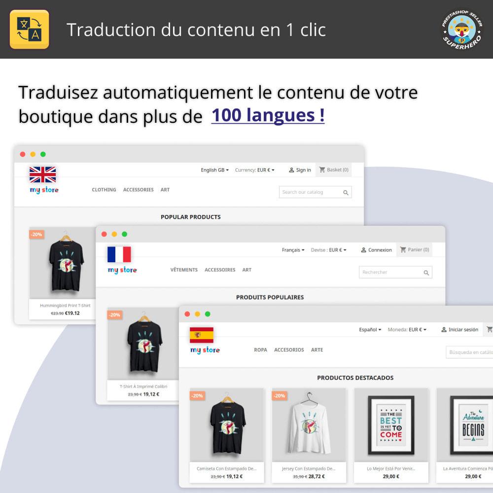 module - International & Localisation - Traduction du contenu en 1 clic - 1