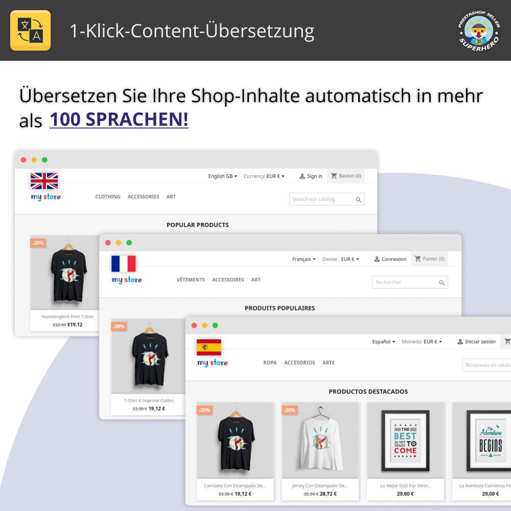 module - Internationalisierung & Lokalisierung - 1-Klick-Content-Übersetzung - 1