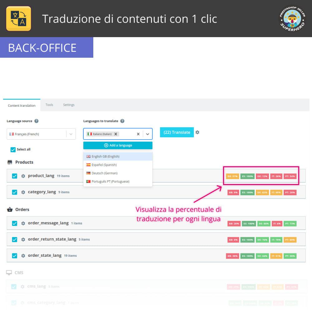 module - Lingue & Traduzioni - Traduzione di contenuti con 1 clic - 3