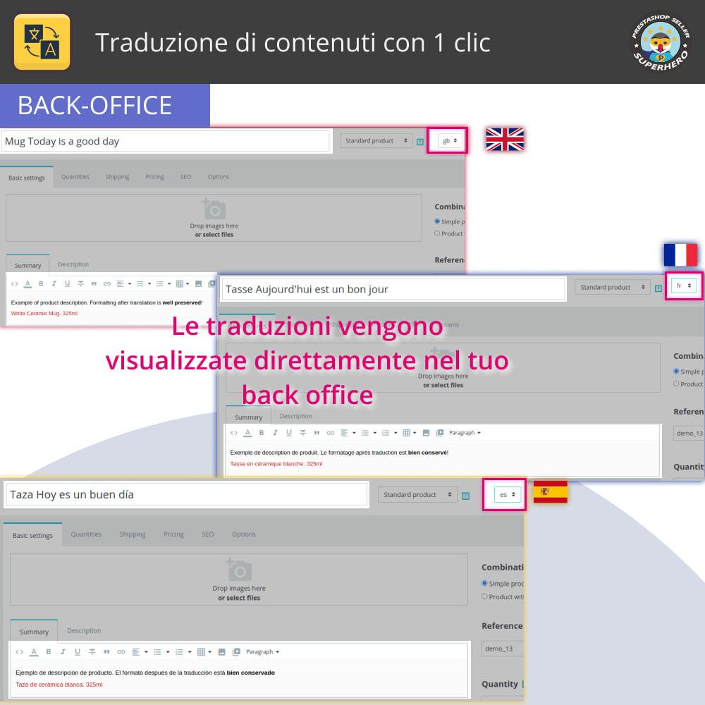module - Lingue & Traduzioni - Traduzione di contenuti con 1 clic - 5