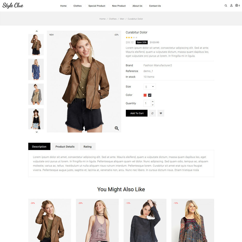 theme - Fashion & Shoes - Style Clue Fashion and Accessories Store - 4