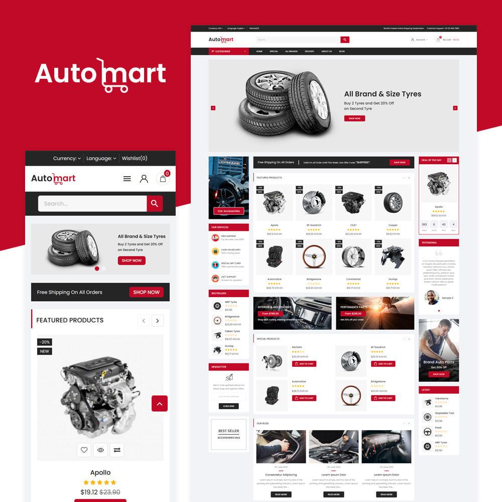 theme - Automotive & Cars - Automart Store - 1