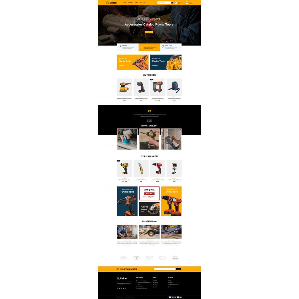 theme - Auto's & Motoren - Gridtool - Hand Tool Store - 2