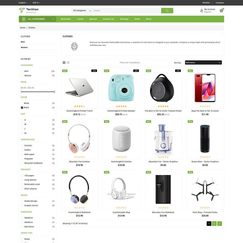 theme - Electrónica e High Tech - Teatitan - Electronics Ecommerce Multipurpose - 4