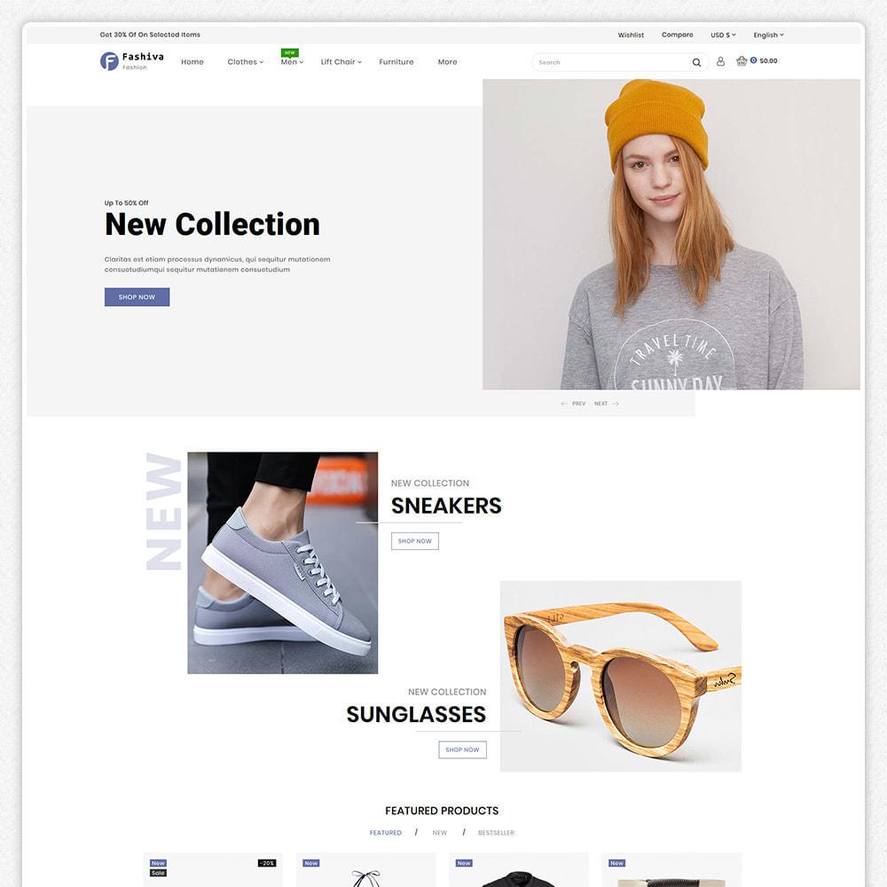 theme - Fashion & Shoes - Fashiva - Modern Fashion Store - 2