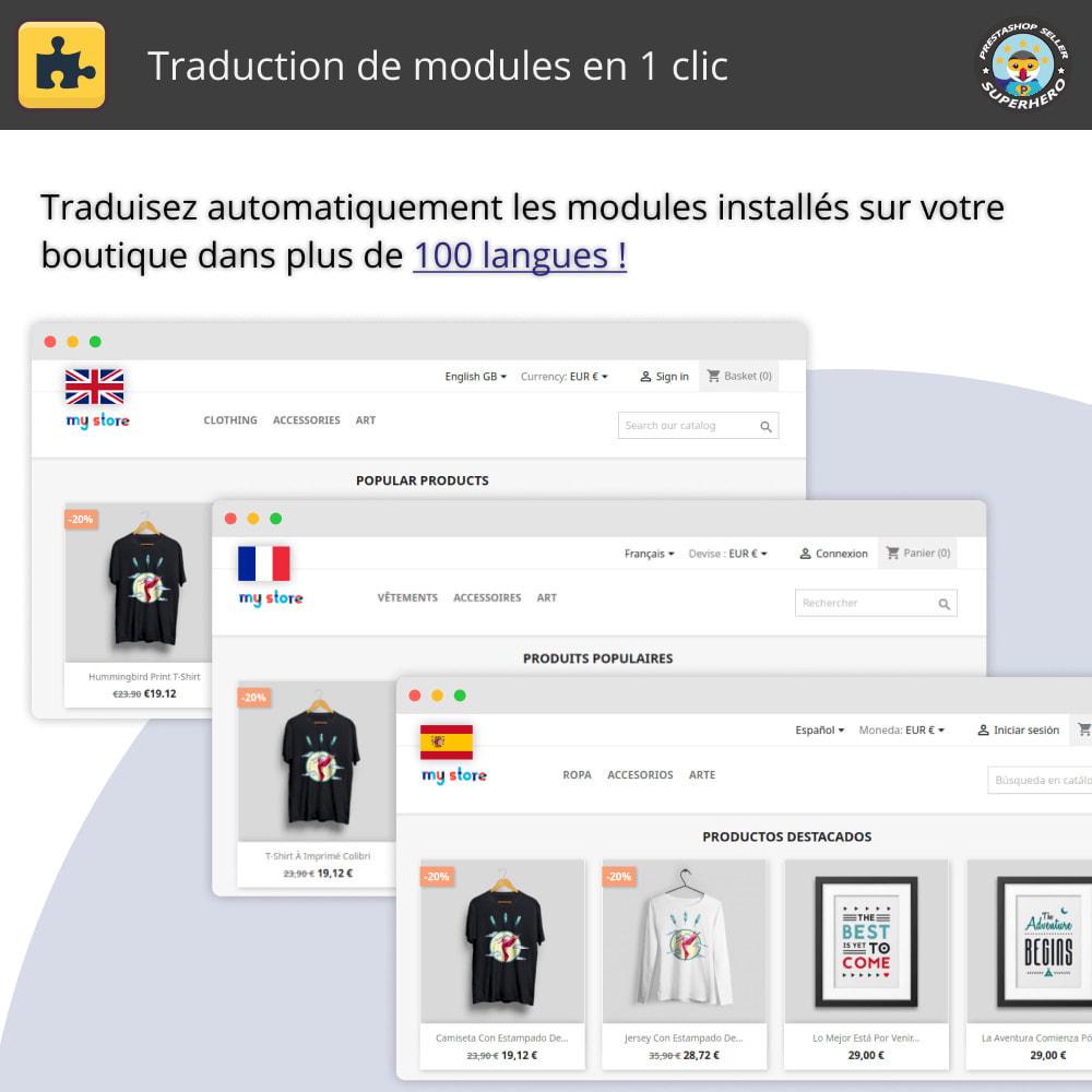 module - International & Localisation - Traduction de modules en 1 clic - 1