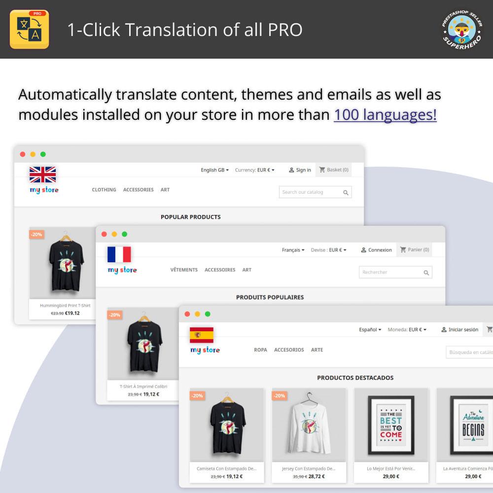 module - International & Localization - 1-Click Translation of all PRO - 1