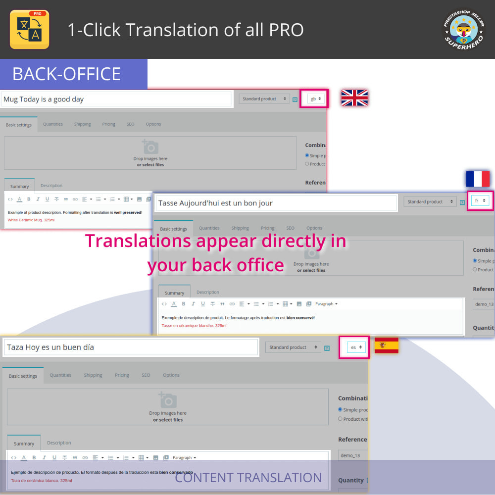 module - International & Localization - 1-Click Translation of all PRO - 5