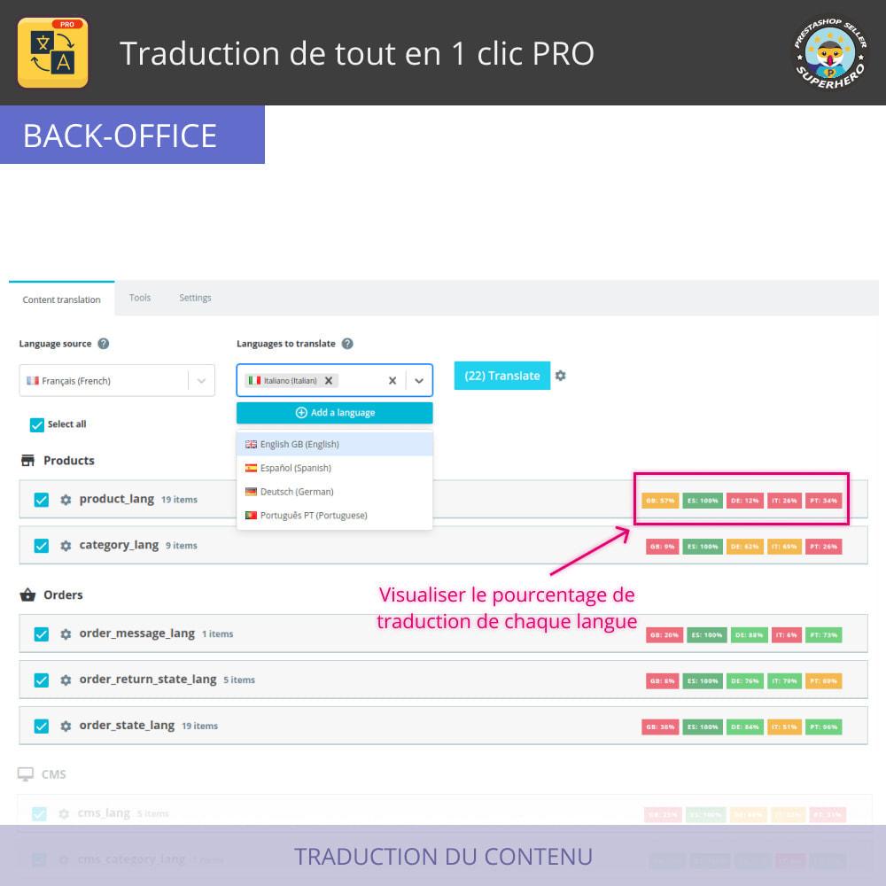 module - International & Localisation - Traduction de tout en 1 clic PRO - 3
