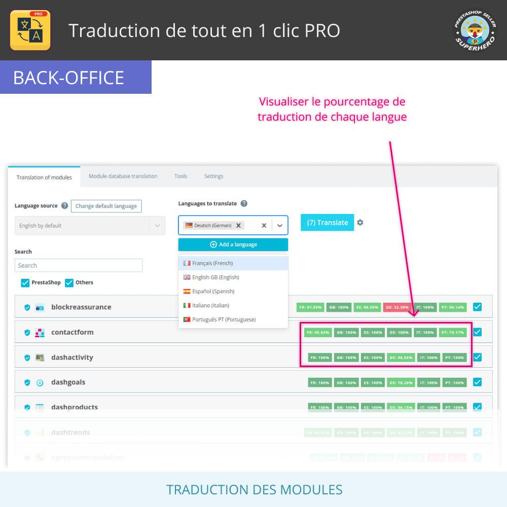 module - International & Localisation - Traduction de tout en 1 clic PRO - 10