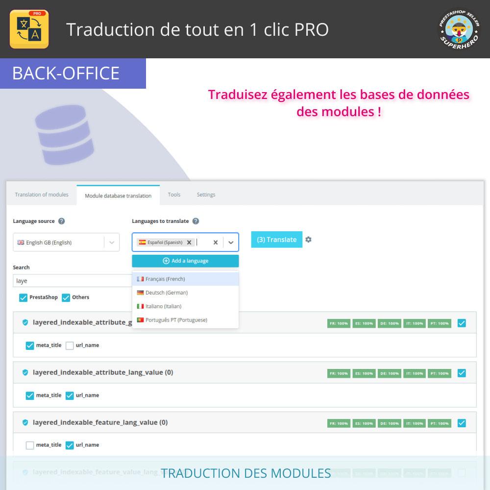 module - International & Localisation - Traduction de tout en 1 clic PRO - 12