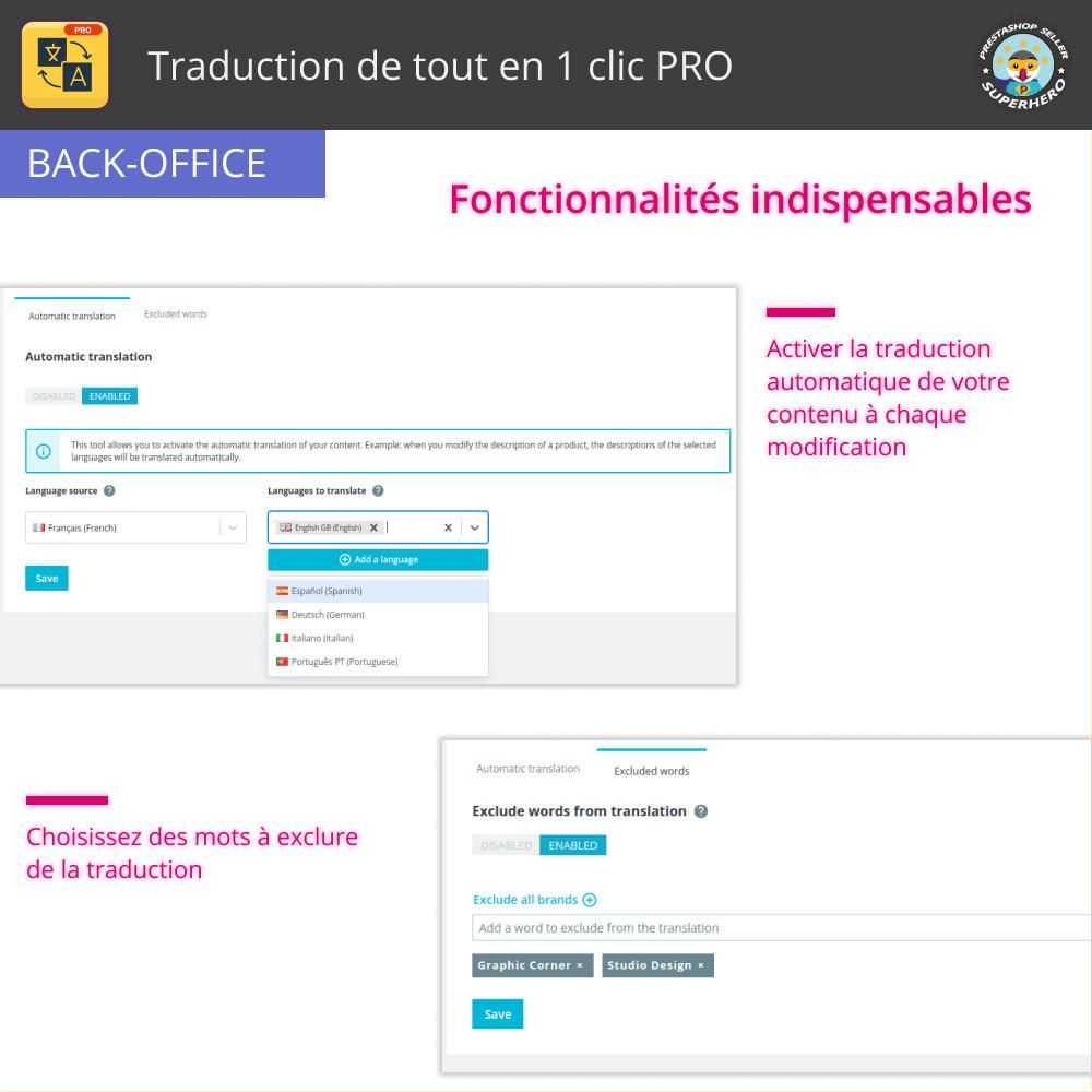 module - International & Localisation - Traduction de tout en 1 clic PRO - 13