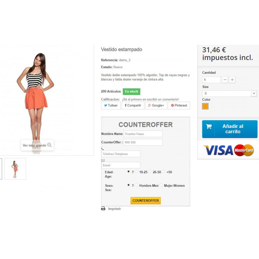 module - Remarketing & Shopping Cart Abandonment - Counteroffer - 2