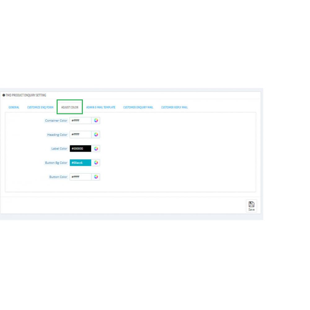 module - Administration - Enquête sur un produit - 3