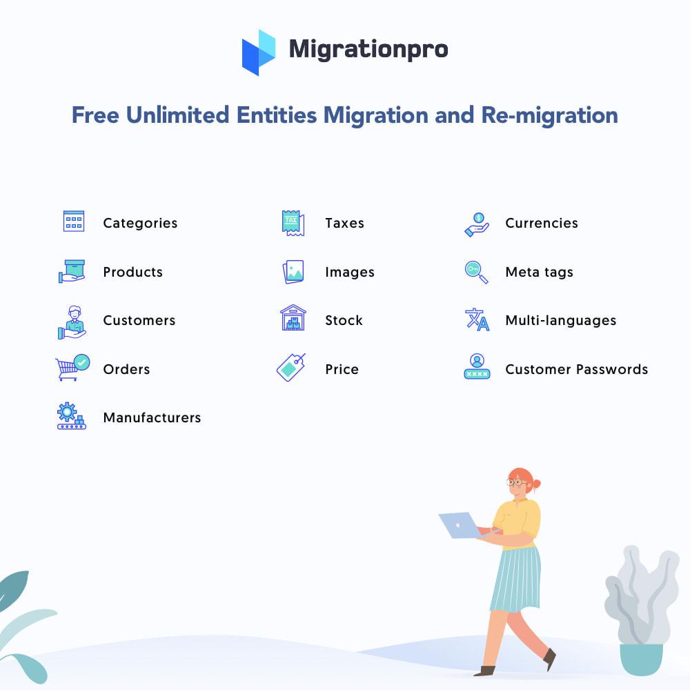 module - Migracja & Backup - MigrationPro: CubeCart to PrestaShop Migration tool - 2