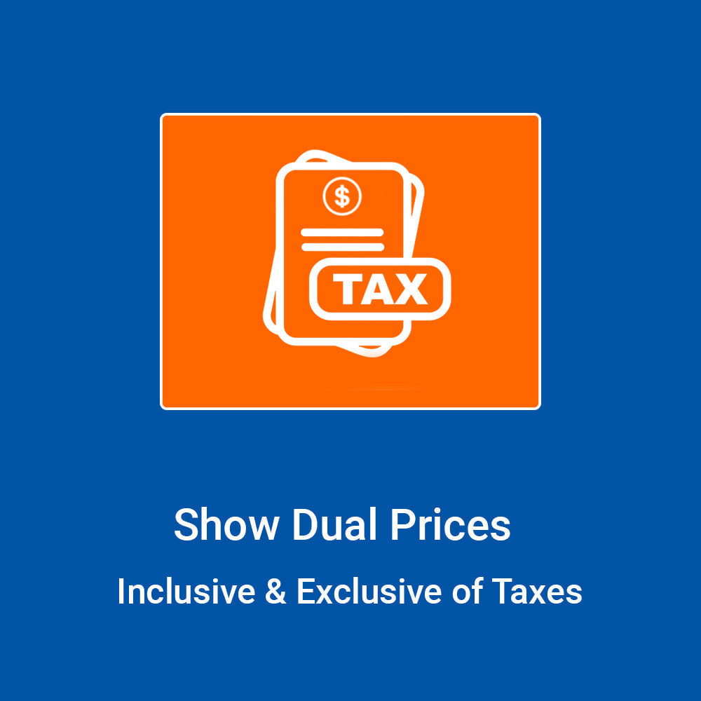 module - Price Management - Show Dual Prices - Inclusive & Exclusive of Taxes - 1
