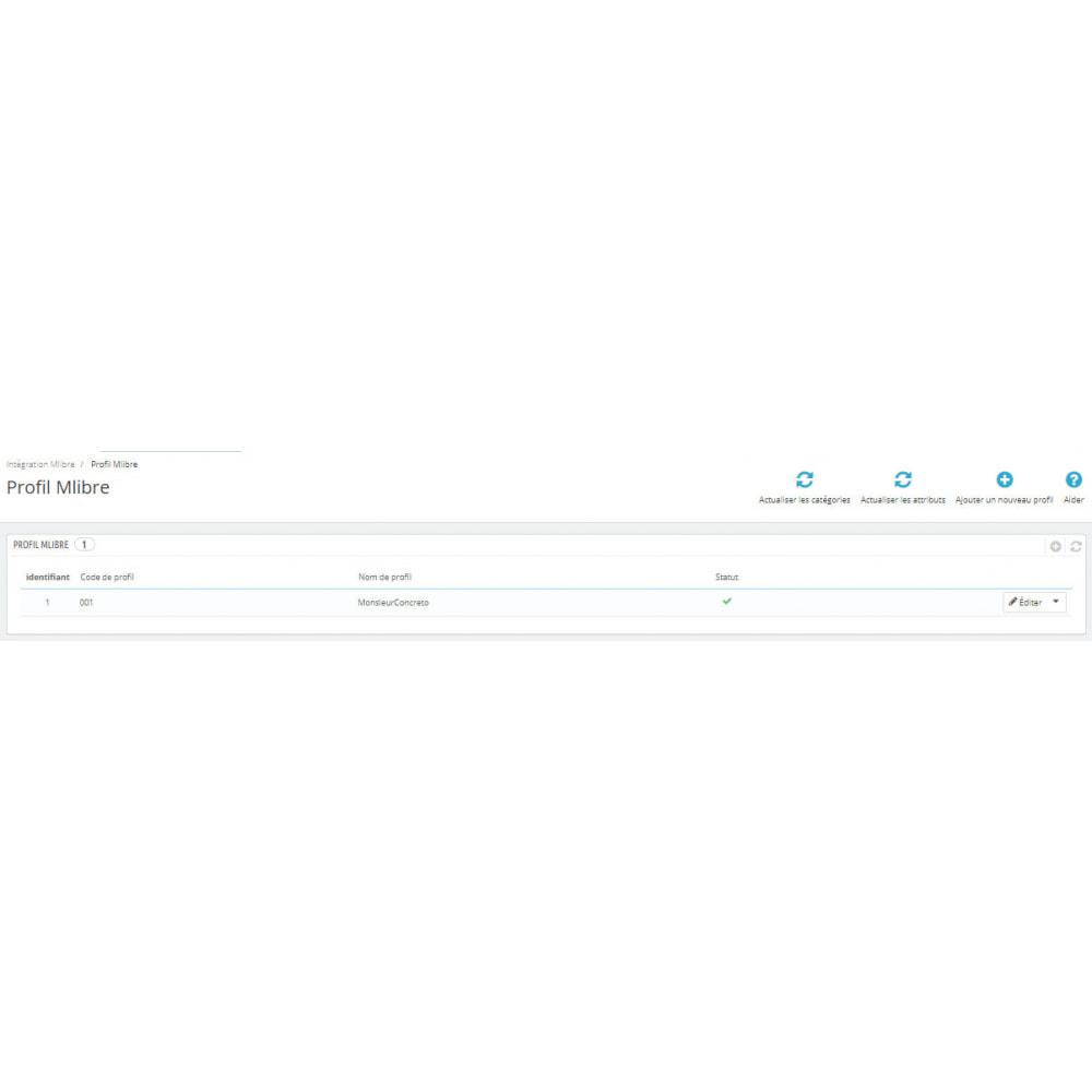 module - Connexion à un logiciel tiers (CRM, ERP...) - Intégration CedCommerce MercadoLibre - 5