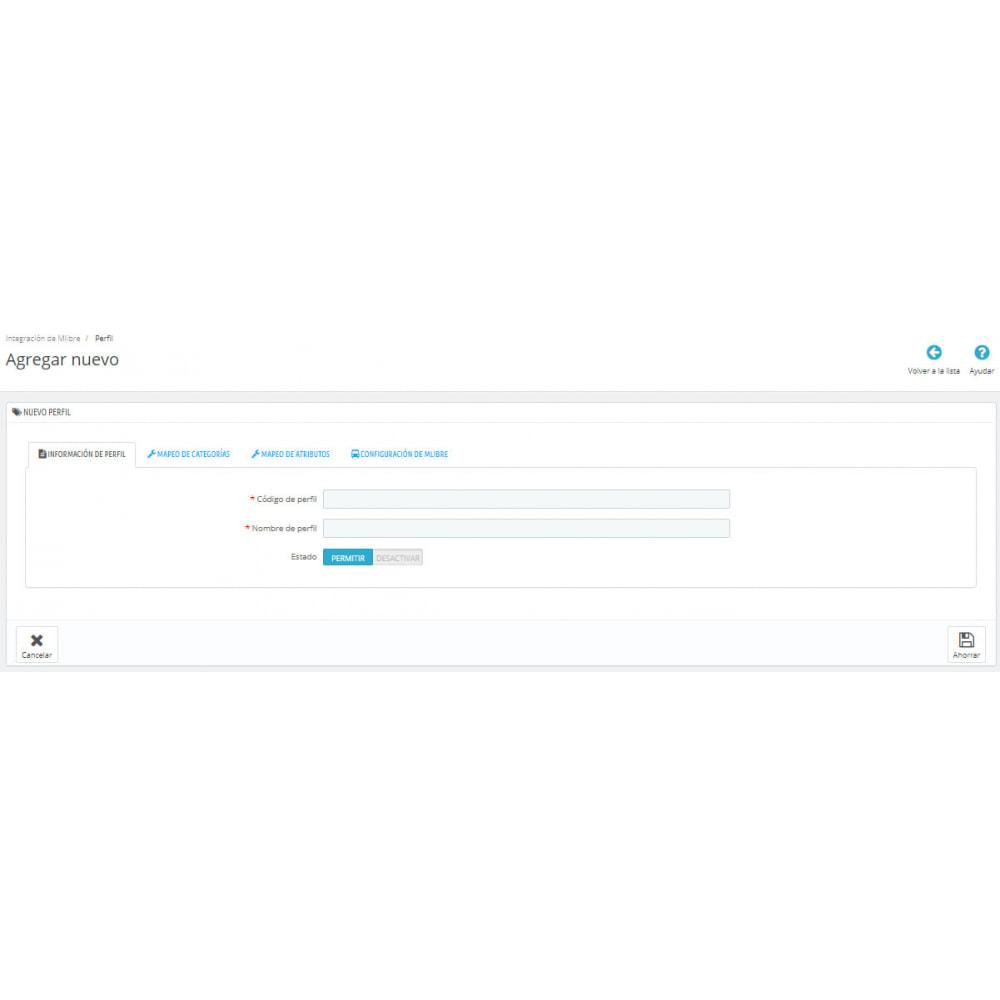 module - Integración con CRM, ERP... - CedCommerce MercadoLibre Integration - 6