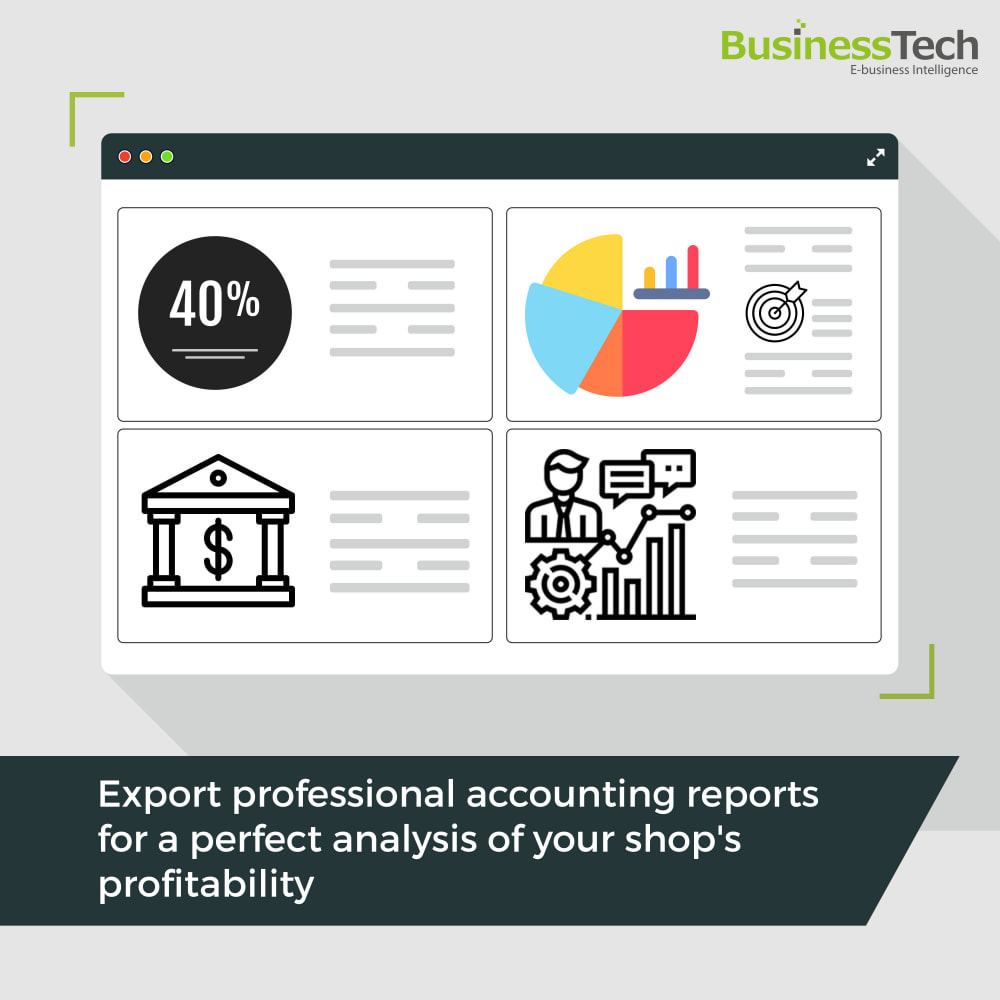 module - Статистика и анализ - Sales Reports Pro - Accounting Exports - 1