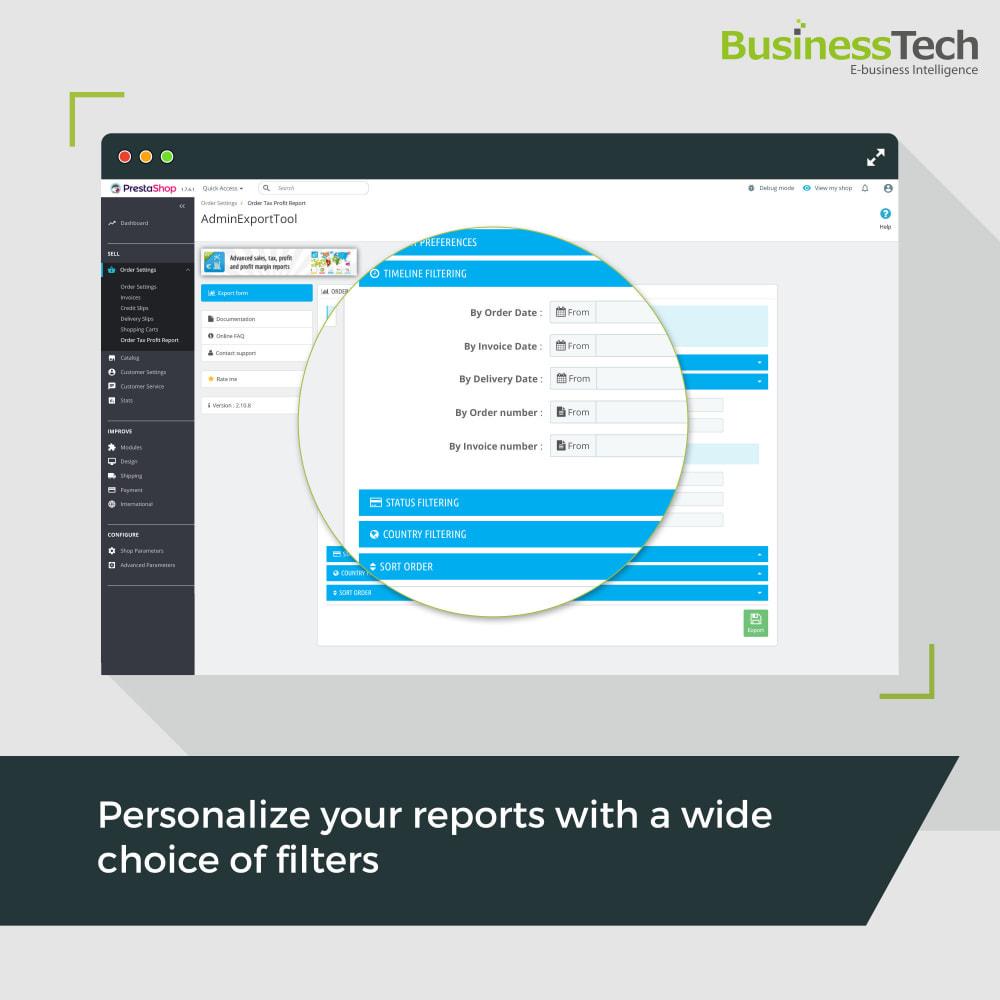 module - Статистика и анализ - Sales Reports Pro - Accounting Exports - 3