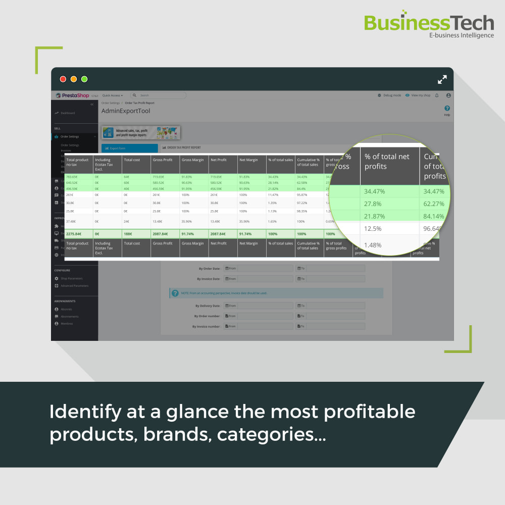 module - Статистика и анализ - Sales Reports Pro - Accounting Exports - 8