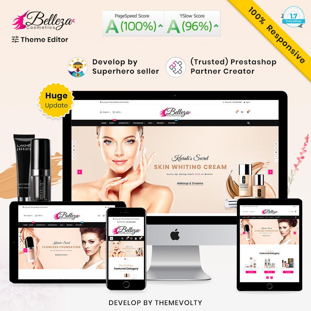 theme - Santé & Beauté - Belleza Méga Riche Beauté–Cosmétique Salon Super Store - 2