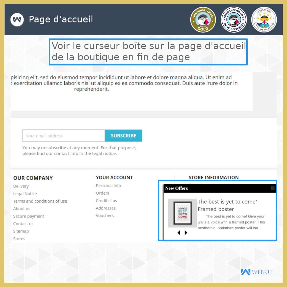 module - Produits en page d'accueil - Page Fin Slidebox - 3