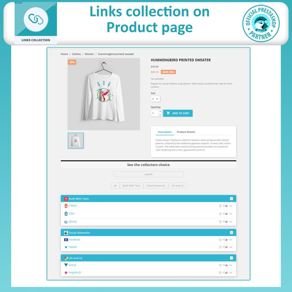 module - URL y Redirecciones - Links Collection - 6