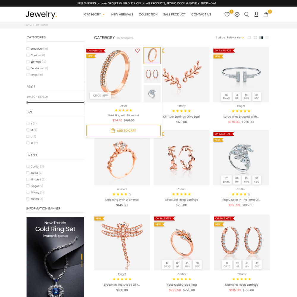 theme - Jewelry & Accessories - Jewelry & Accessories - Fashion, Watches, Design - 5