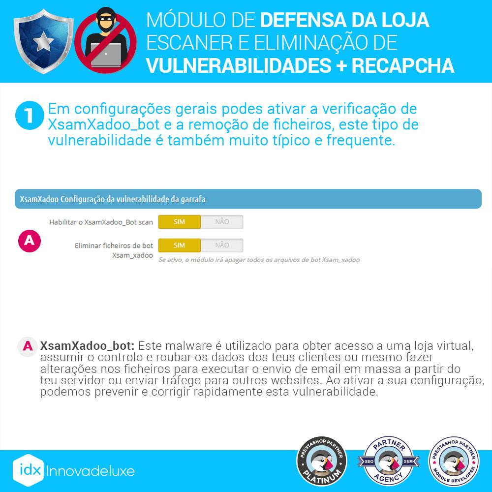 module - Administração - Store Defender (Remoção de malware + Firewall) - 3