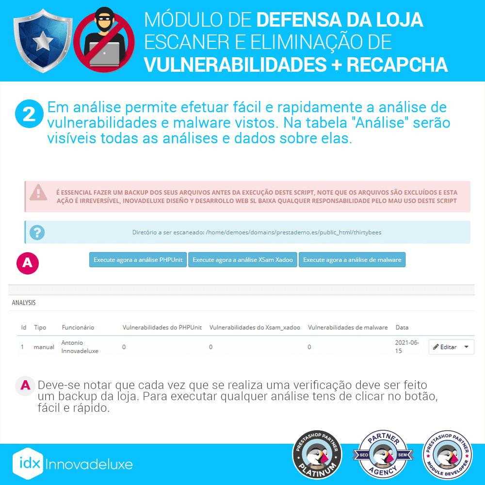module - Administração - Store Defender (Remoção de malware + Firewall) - 5