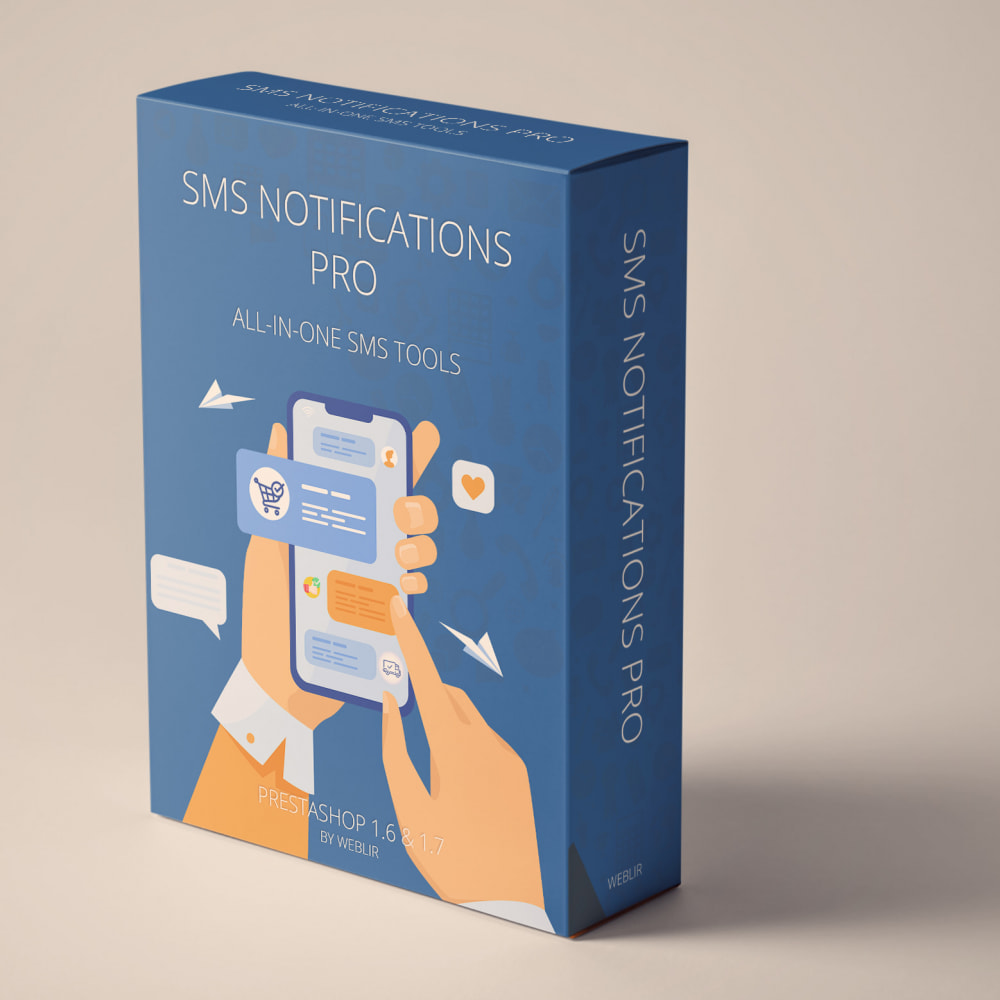 module - Dispositivos móviles - SMS Notifications PRO - All-in-one SMS Tools - 1
