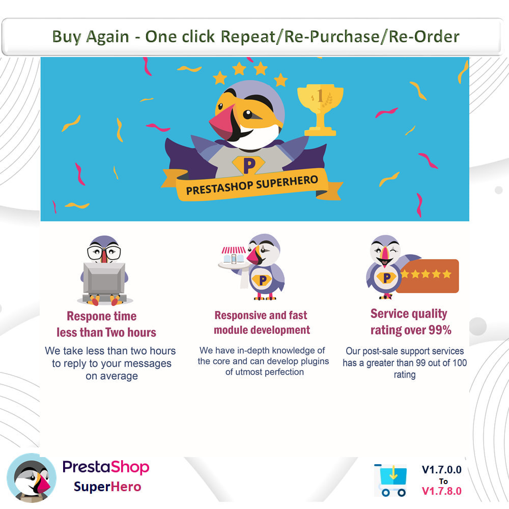 module - Bestelproces - Buy Again- One click Repeat/Re-Purchase/Re-Order - 12