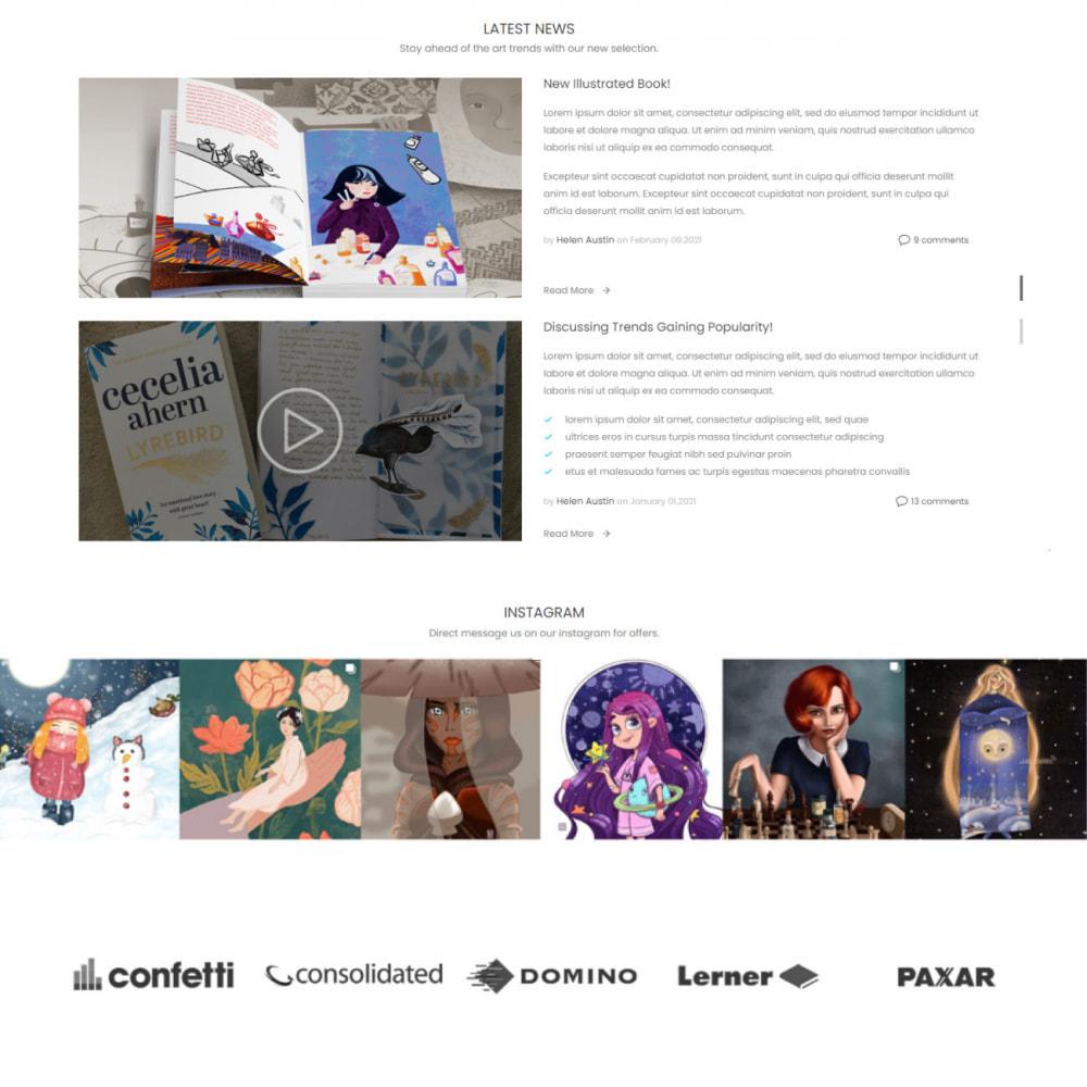 theme - Arte & Cultura - Art & Culture - Decor, Book, Print, Music - 4