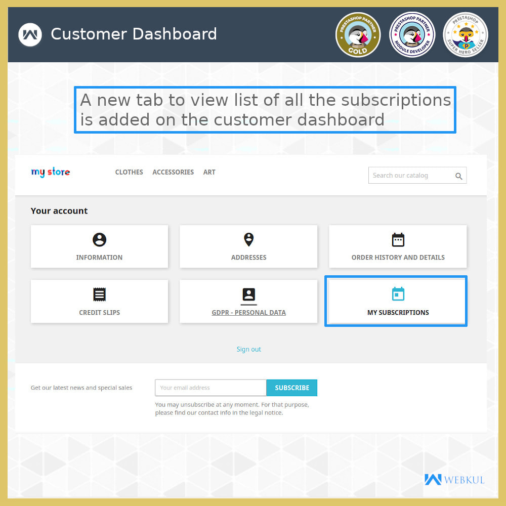 module - Recurring payment (subscription) - Subscription Products | Recurring Payments - 10