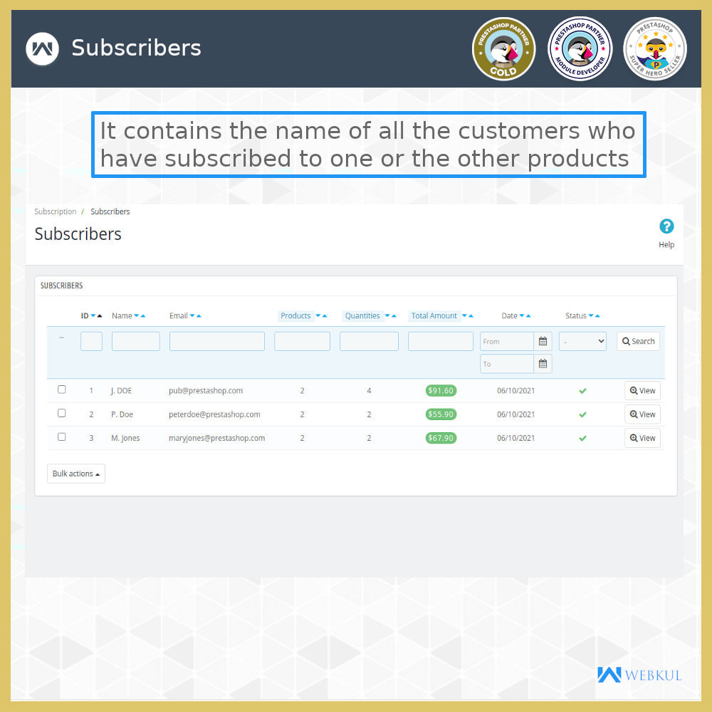 module - Pagamento recorrente (assinatura) - Subscription Products | Recurring Payments - 14