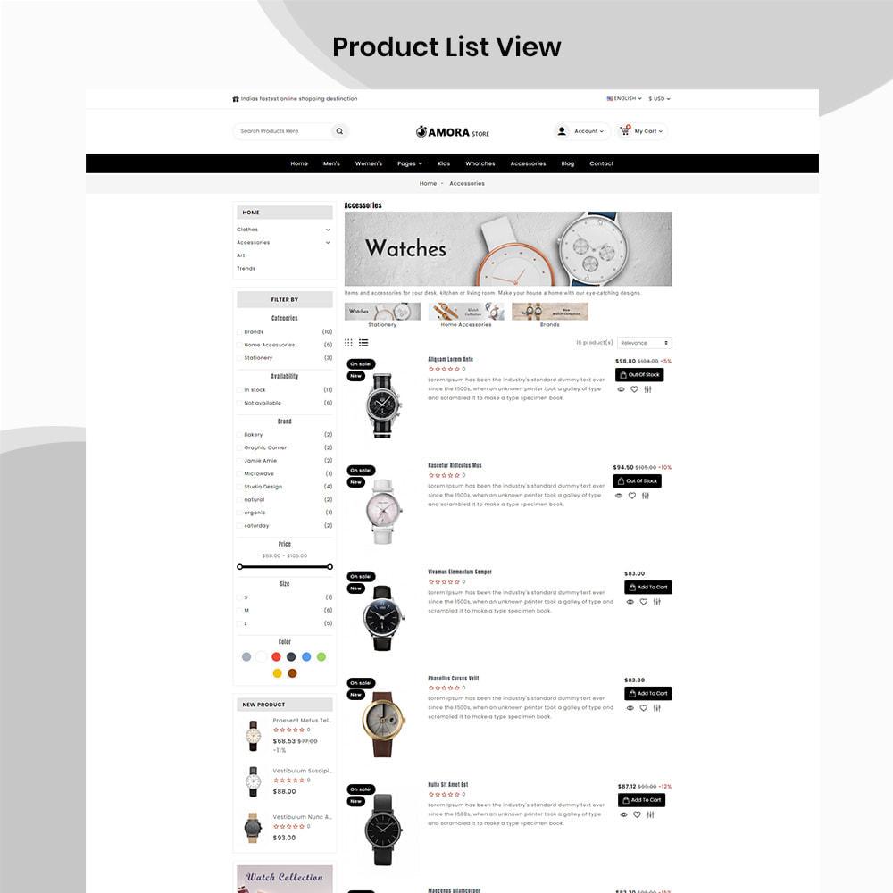 theme - Biżuteria & Akcesoria - Amora Watch Shop - 5