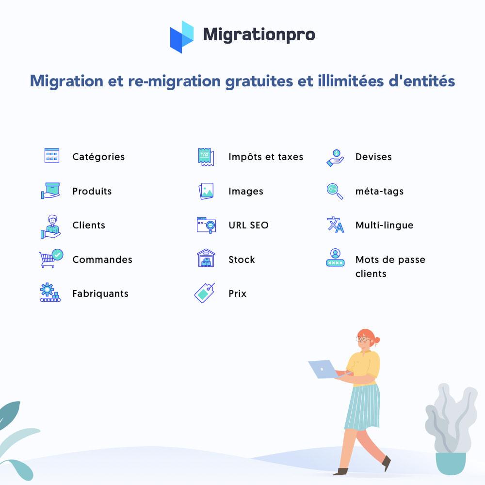 module - Migration de Données & Sauvegarde - Outil de migration Zen Cart vers  PrestaShop - 2
