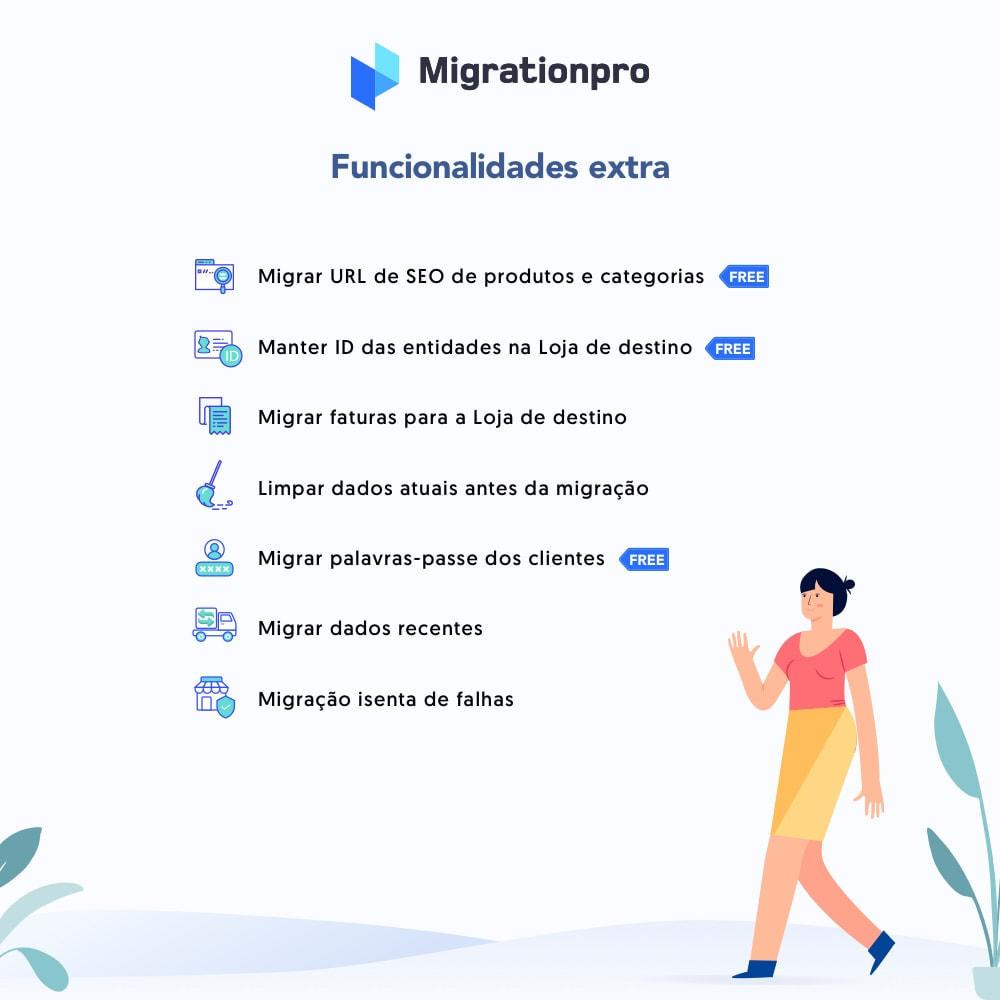 module - Migração de Dados & Registro - Ferramenta de Migração de Zen Cart para PrestaShop - 5