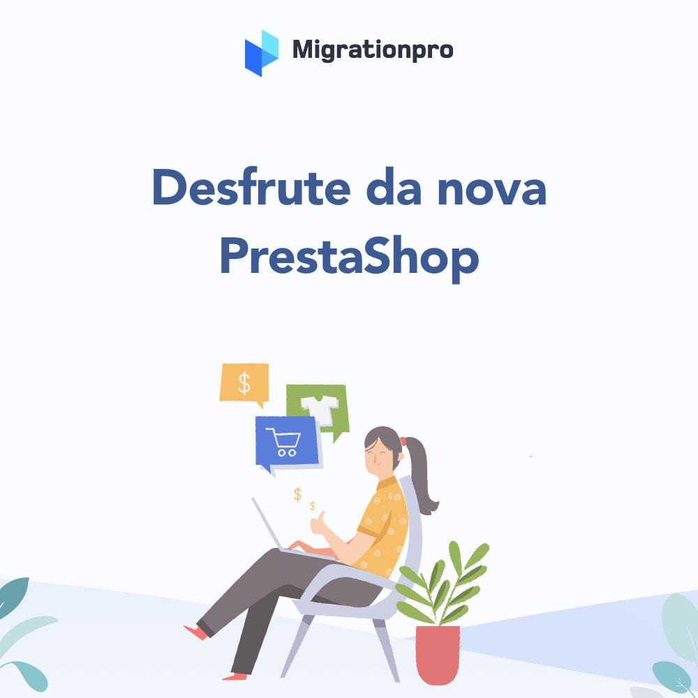 module - Migração de Dados & Registro - Ferramenta de Migração de Zen Cart para PrestaShop - 9