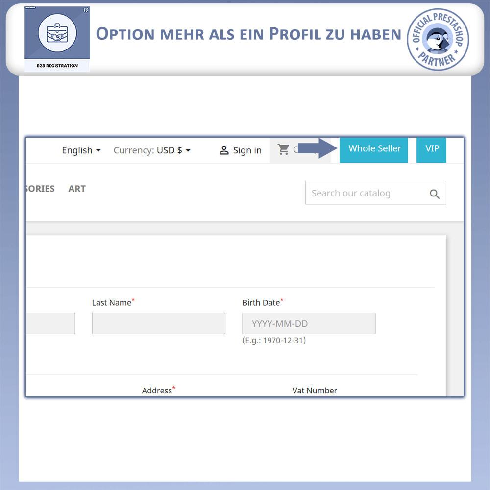 module - Anmeldung und Bestellvorgang - B2B-Registrierung - 13