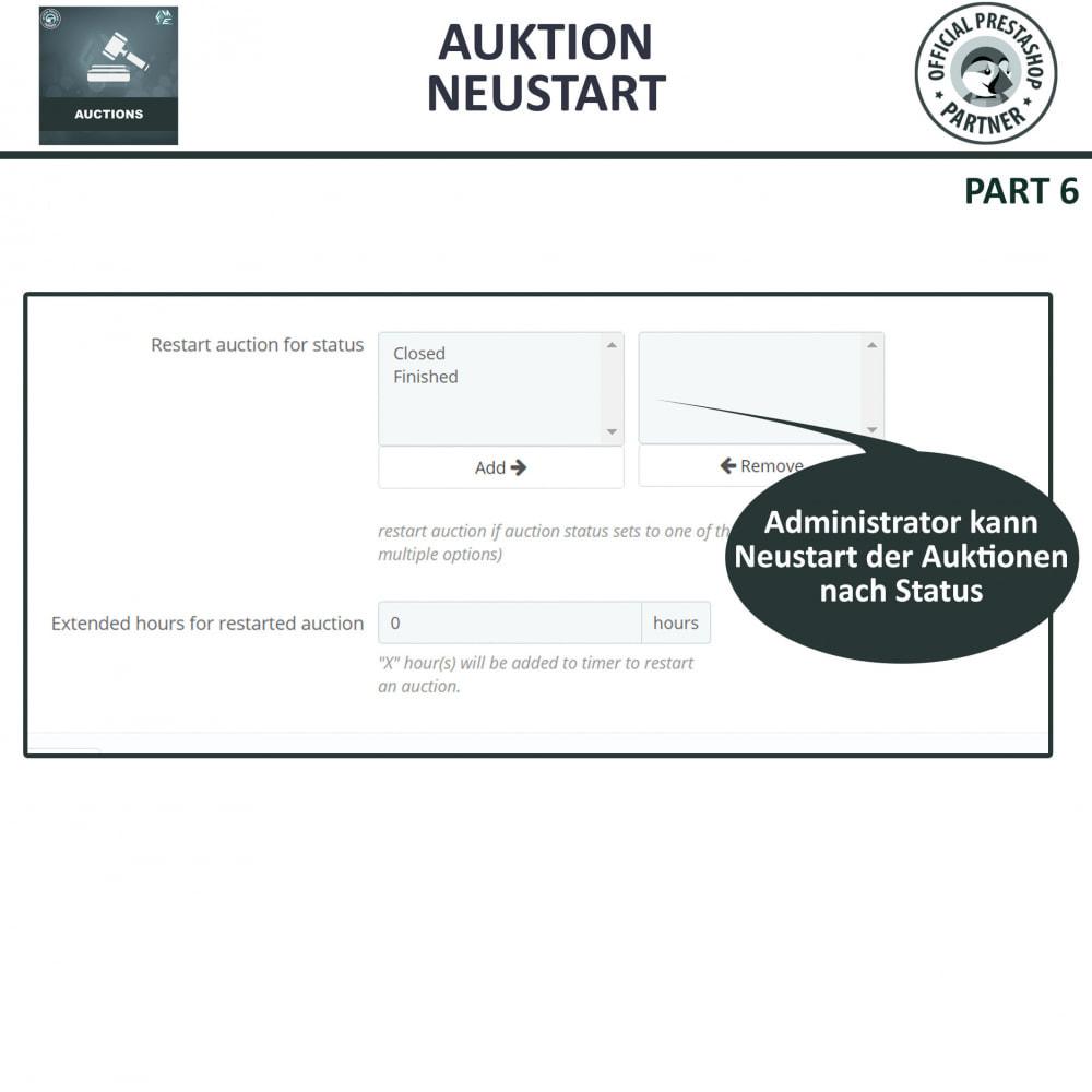 module - Auktionsseiten - Auktion Pro, Online-Auktions und Gebotsmanagement - 25