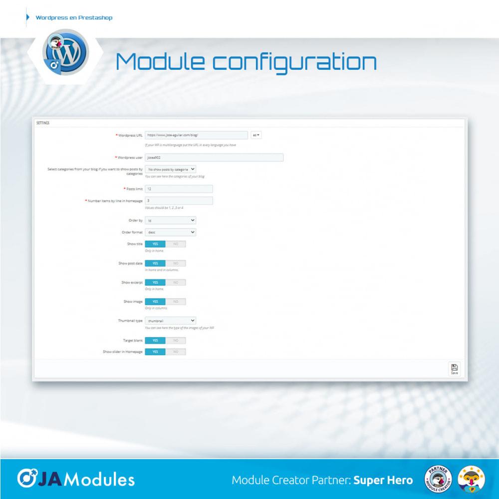 module - Blog, Forum & Actualités - WordPress Inside - 1