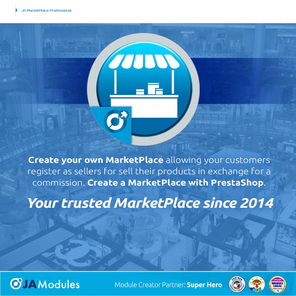 module - Marketplace Erstellen - JA Marketplace - 1