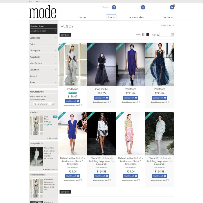 theme - Moda & Calzature - 01 Mode - 5
