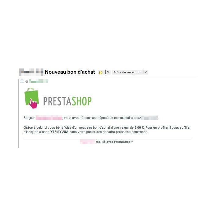 module - Kundenbewertungen - Voucher on comment - 4