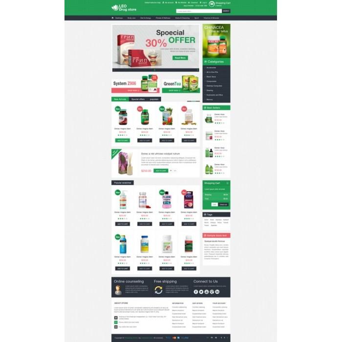 theme - Salud y Belleza - Leo Drug Store - 3